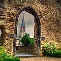 Church Ruins In Boppard Germany by Linda Covino