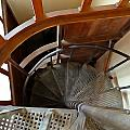 Church Stairs by Charlie and Norma Brock