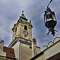Church Steeple - Bratislava Slovakia by Jon Berghoff