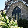 Church Window by Nancie Johnson