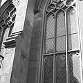 Church Windows And Subway Posts by Catie Canetti