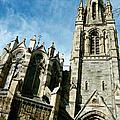 Church With An Eerie Feel by Jennifer Robin