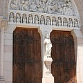 Churchdoor - Saint Peter - Macon by Christiane Schulze Art And Photography