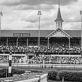 Churchill Downs And Twin Spires  by John McGraw