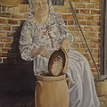 Churning Butter by Wanda Dansereau