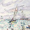 Ciboure by Paul Signac