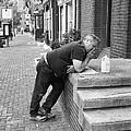 Cigarette Break by Hugh Smith