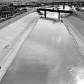 Cigarette Venders Rio Grande River Separating El Paso And Juarez 1977 by David Lee Guss