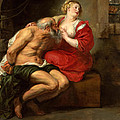 Cimon And Pero by Peter Paul Rubens