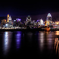 Cincinnati After Sunset by Keith Allen