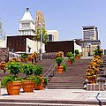 Cincinnati Downtown Central Business District by Paul Velgos