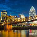 Cincinnati Downtown by Inge Johnsson