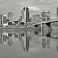 Cincinnati Monochrome by Frozen in Time Fine Art Photography