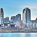 Cincinnati Panorama by Frozen in Time Fine Art Photography
