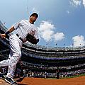 Cincinnati Reds V New York Yankees by Al Bello