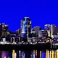 Cincinnati Skyline Dreams 2 by Mel Steinhauer