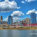 Cincinnati Skyline by Mel Steinhauer