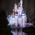 Cinderella's Castle Reflection by Adam Romanowicz