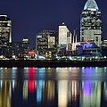Cinicinnati At Dusk by Frozen in Time Fine Art Photography