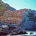 Cinque Terre Itl2617 by Dean Wittle
