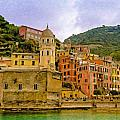Cinque Terre Itl3323 by Dean Wittle