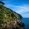 Cinque Terre Itl3329 by Dean Wittle