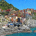 Cinque Terre Itl3403 by Dean Wittle