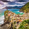 Cinque Terre Sunset by JR Photography