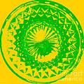 Circle Yellow by Anita Lewis