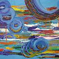 Circles And Boats And Masts by Dora Wacker