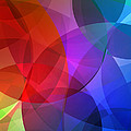 Circles In Colorful Abstract by Design Turnpike