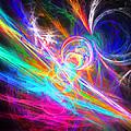 Circles Of Colours by Jitender Matharu