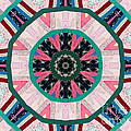 Circular Patchwork Art by Barbara Griffin