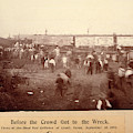 Circus Train Wreck, 1896 by Granger