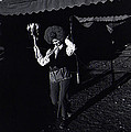 Circus World Homage  Clown J.a. Strong Traveling Circus Along The Us/mexico Border Bisbee Az Naco  by David Lee Guss