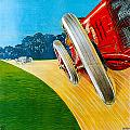 Circvito Di Milano by Vintage Automobile Ads and Posters