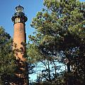 Cirrituck Beach Light by Herbert Gatewood
