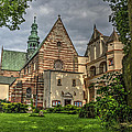 Cistercian Church From 12th And 13th Century In Wachock In Poland by Julis Simo