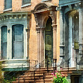 Cities - Albany Ny Brownstone by Susan Savad