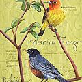 Citron Songbirds 2 by Debbie DeWitt
