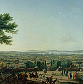 City And Port Of Toulon, 1756 Oil On Canvas by Claude Joseph Vernet