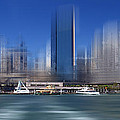 City-art Sydney Circular Quay by Melanie Viola