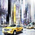 City-art Times Square II by Melanie Viola