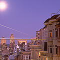 City At Night, San Francisco by Panoramic Images