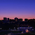 City At The Edge Of Night by Metro DC Photography