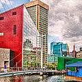City - Baltimore Md - Harbor Place - Future City  by Mike Savad