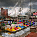 City - Baltimore Md - Modern Maryland by Mike Savad