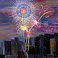 City Celebration San Francisco Bay by Mark Moore
