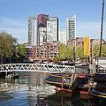City Centre Of Rotterdam In Netherlands by Artur Bogacki