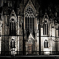 City Church At Night by Miguel Winterpacht